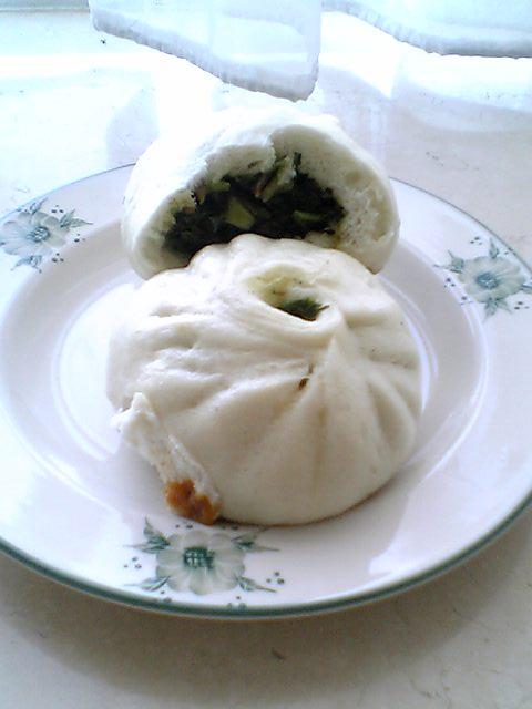 香菇菜包(シャングーツァイパオ)